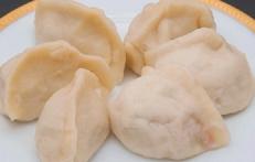 三鮮水餃子(エビ入り餃子)