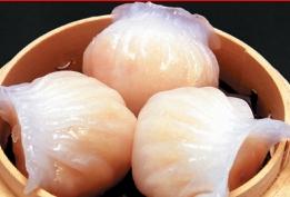 超級点心 鮮蝦餃(エビ蒸し餃子))(401)
